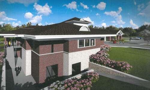 Hiawatha library officials kick off fundraising for facility overhaul