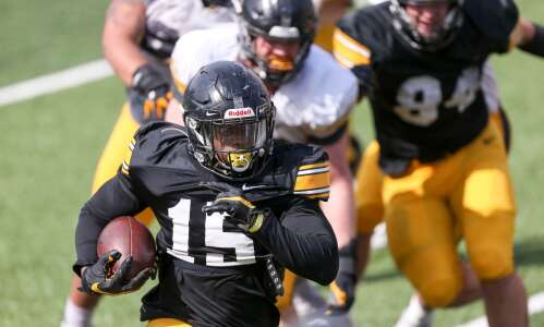Iowa running backs look to elevate play under new coach