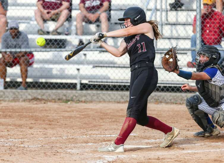Photos: Mount Vernon softball at Clear Creek-Amana