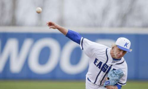 Tyler Tscherter delivers in starting debut for Kirkwood baseball
