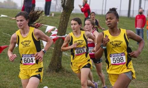 Mid-Prairie atop 2A girls preseason cross-country rankings, Pekin 3rd in…