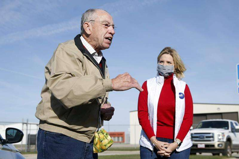 Chuck Grassley tests positive for COVID-19