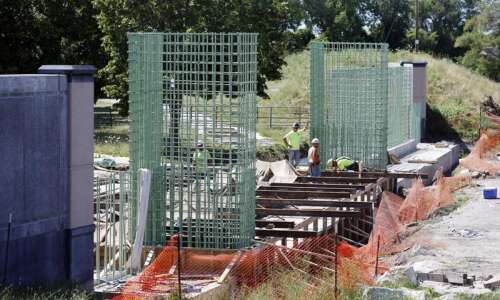 C.R. and Corps of Engineers cooperating on massive flood control…