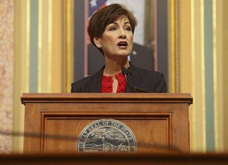 Replay: Iowa Gov. Kim Reynolds gives Condition of the State address