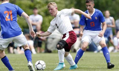 Iowa Mennonite overwhelmed by Sioux Center in 1A boys' soccer…