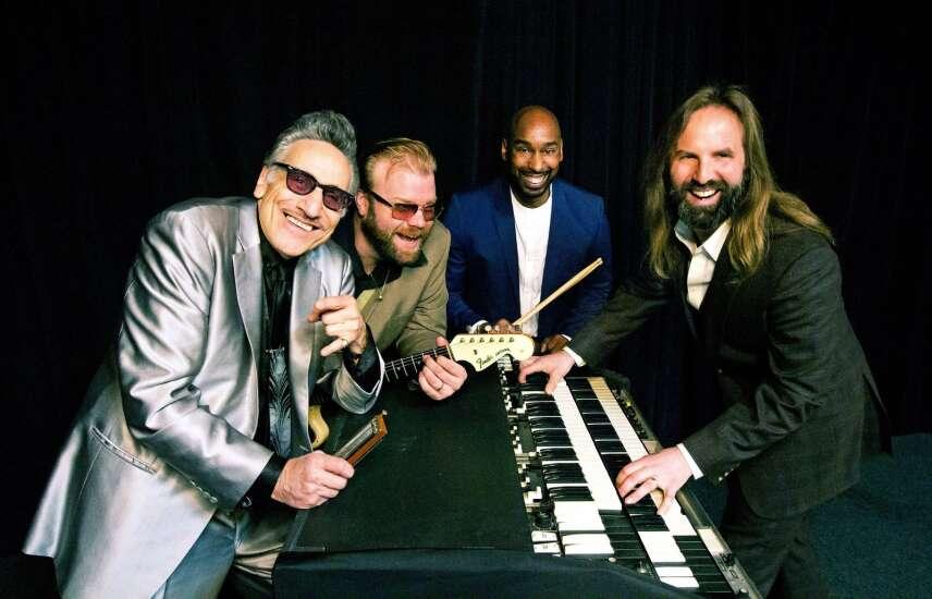 Rick Estrin headlining Czech Village Blues in Cedar Rapids