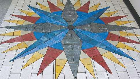 Paving Kalona's sidewalks with quilts
