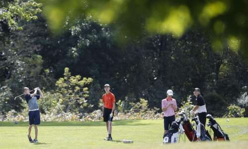 Cedar Rapids metro golf courses currently open for play