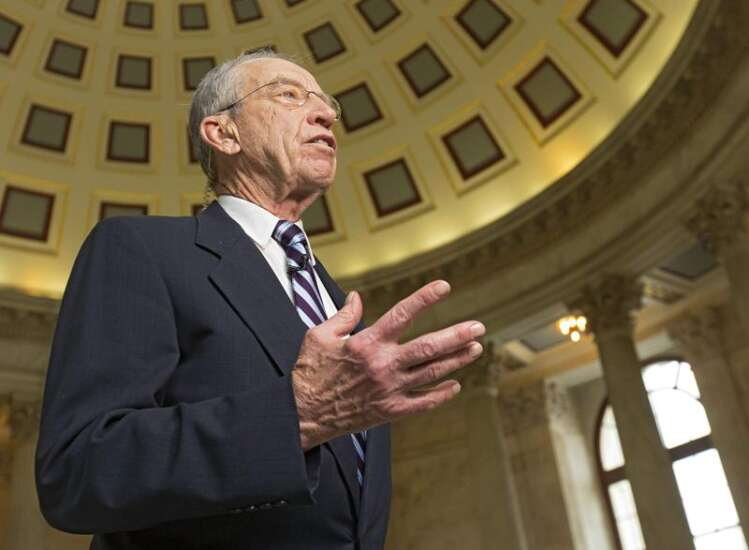 Grassley sees Graham-Cassidy health care bill 1 or 2 votes short of passage