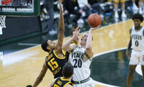 Defense! From Iowa men's basketball? Yes, for 3 straight games…