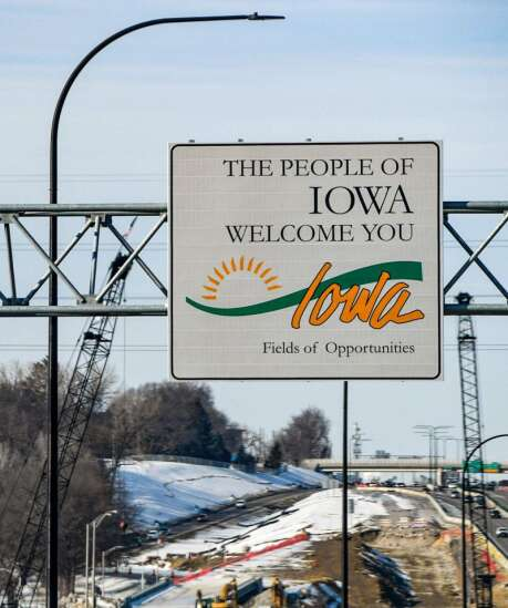 Welcome to Iowa, a state in need of a slogan