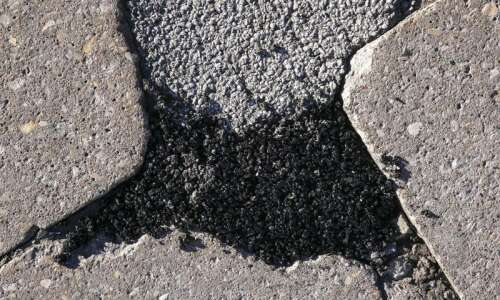 Residents can report potholes to the city of Cedar Rapids