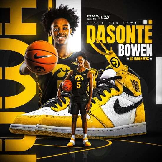 4-star point guard recruit Dasonte Bowen commits to Iowa