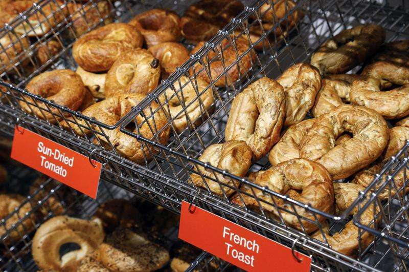 Bagels and a little history: Osgood's offers bagels, salads in Armstrong building