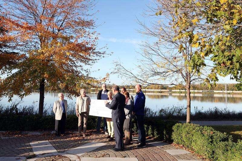 Hall-Perrine awards $5M to Cedar Lake-pedestrian bridge project