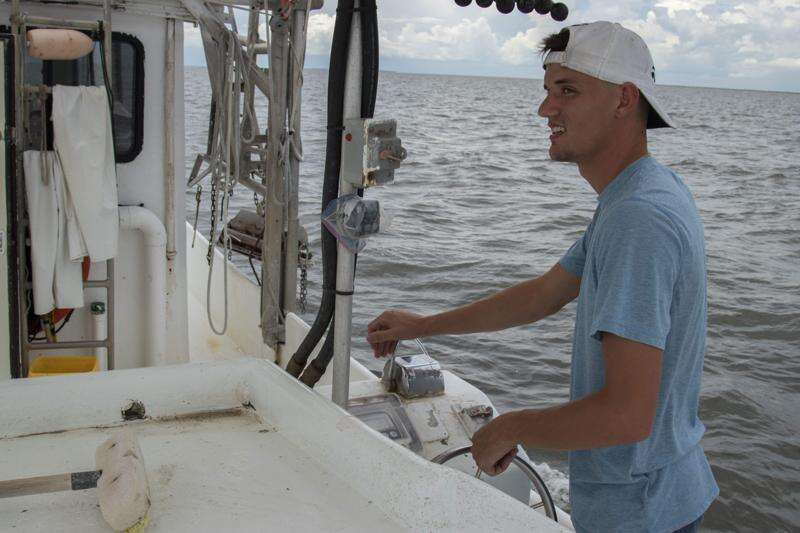 'Dead zone' worsens troubles for Louisiana shrimpers