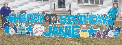 Thank You from Janet (Janie) Kulhavy