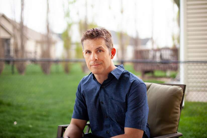 Iowa City comedian Nathan Timmel gets serious in new thriller novel, 'We Are 100'