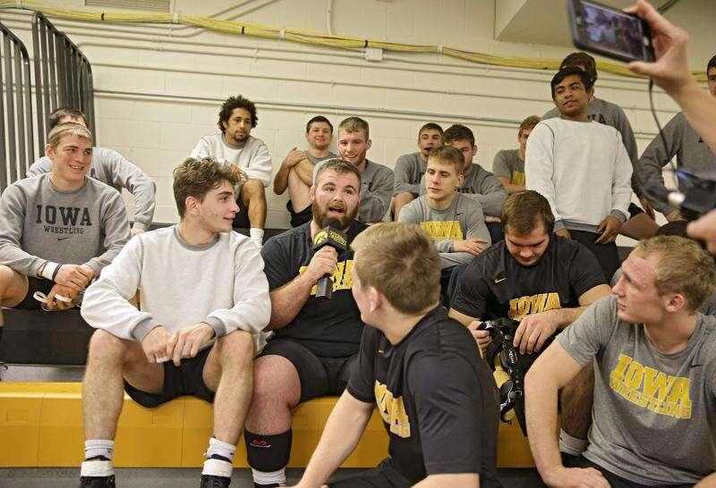 Iowa wrestling notes: Hawkeyes mix plenty of humor with hard work