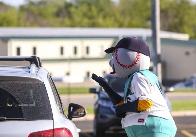 No baseball right now, but Cedar Rapids Kernels offering a bit of the ballpark taste