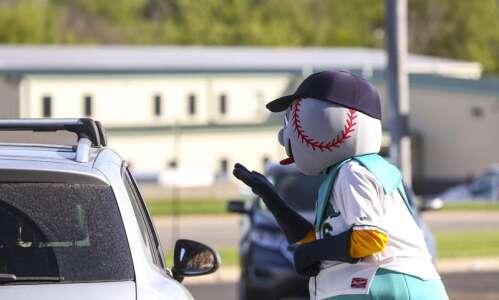 No baseball right now, but Cedar Rapids Kernels offering a…
