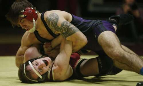 Cornell wrestler Josh Martin loves to dominate