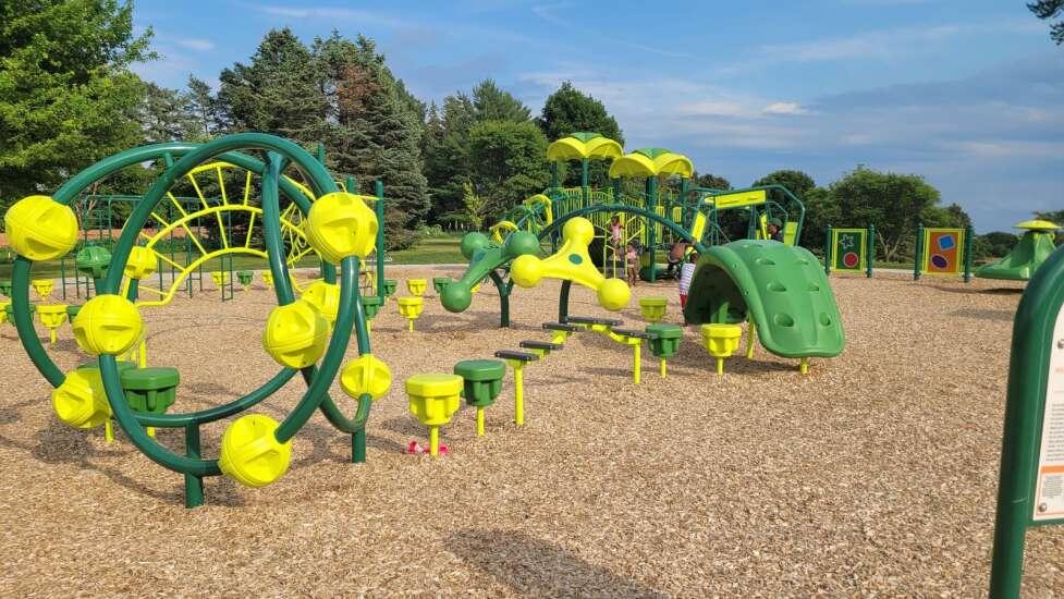 Iowa City's Wetherby Park undergoes renovation