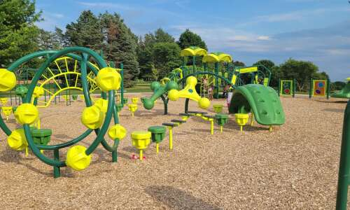 Iowa City's Wetherby Park gets new playground, shelter