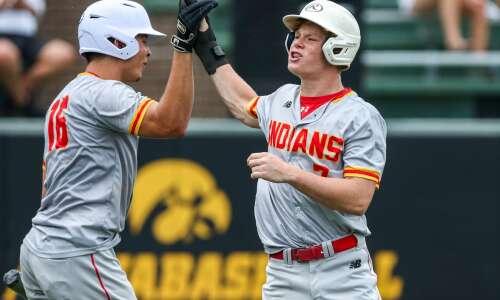 Photos: Marion vs. ADM, Class 3A Iowa high school baseball…
