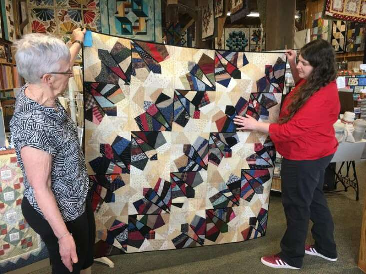 Find the perfect quilt this weekend at Quilt Amana, inaugural show and sale in Amana Colonies