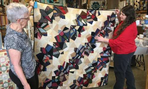 Find the perfect quilt this weekend at Quilt Amana, inaugural…
