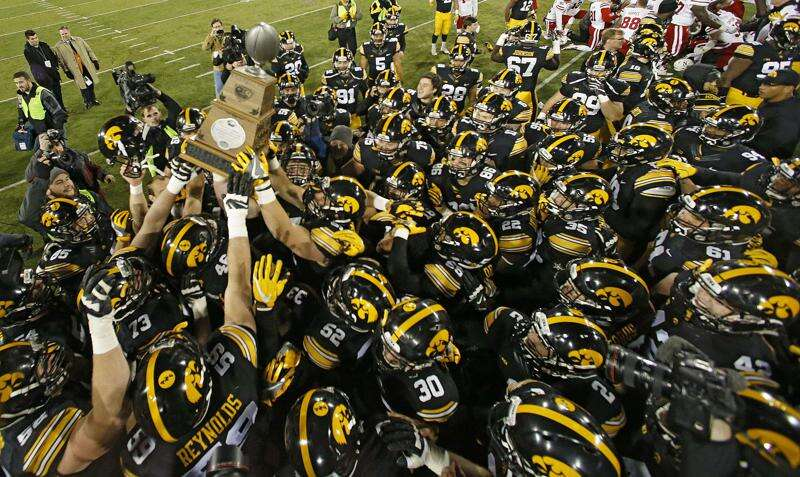 Hawkeyes' 2016 map went from Fargo to Lincoln