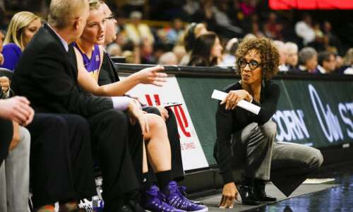 UNI women's basketball searching for scoring as Iowa State visits