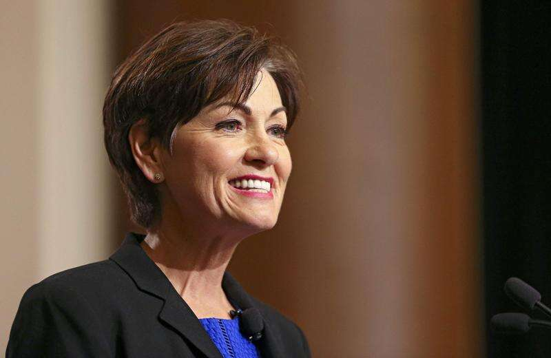 Iowa Gov. Kim Reynolds pitches compromise to get faster tax cuts