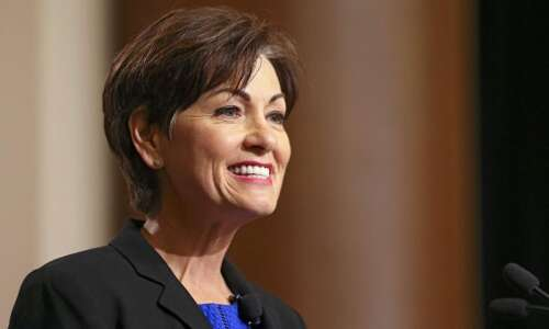 Iowa Gov, Kim Reynolds offers tax compromise