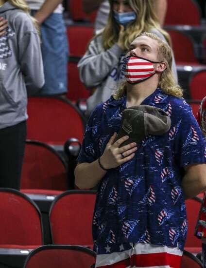 Photos: Dyersville Beckman vs. Des Moines Christian, Iowa Class 2A boys state basketball quarterfinals