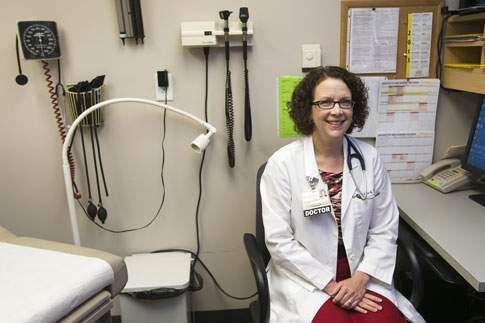 University of Iowa students paying fewer clinic visits