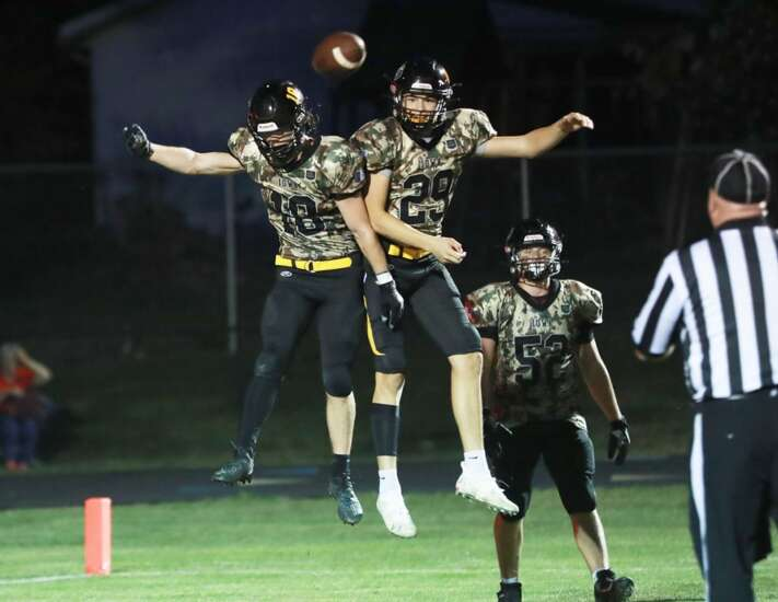 New London football stays alive