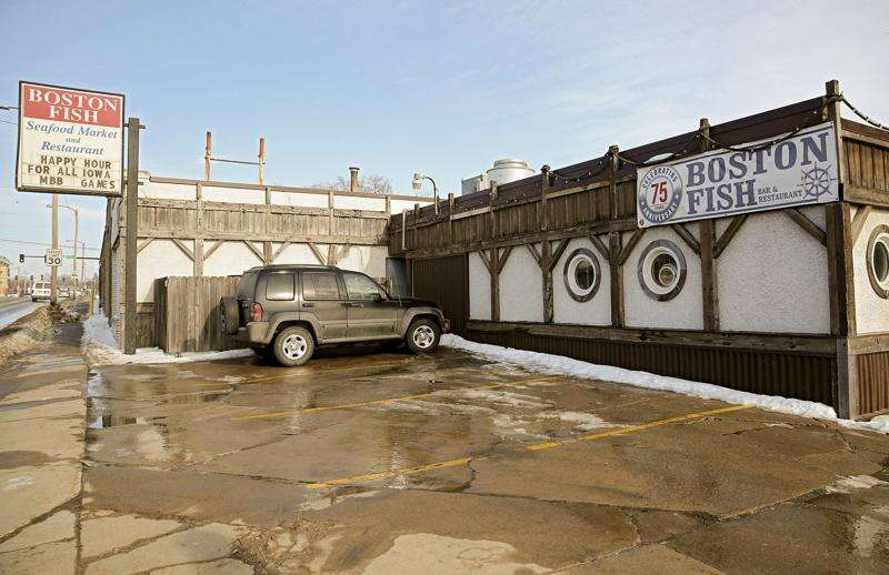 Boston Fish restaurant in Cedar Rapids closing