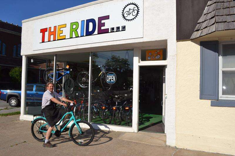 Mark Smith purchases bicycle repair shop in Fairfield, names it 'The Ride'