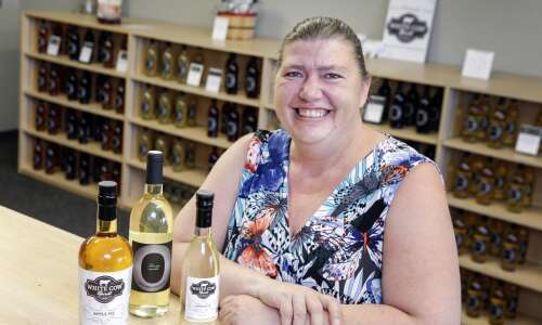 Marion's Cherry Meadow Winery specializes in semi-sweet fruit wine