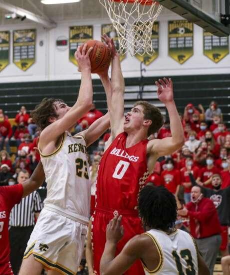 Photos: Ottumwa vs. Cedar Rapids Kennedy, Class 4A Iowa high school boys' basketball substate semifinals