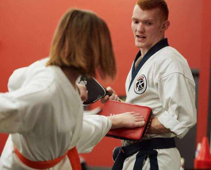 Revolution Martial Arts' new space in Robins just the right size