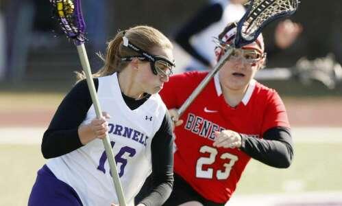 Gallery: Benedictine tops Cornell in women's lacrosse