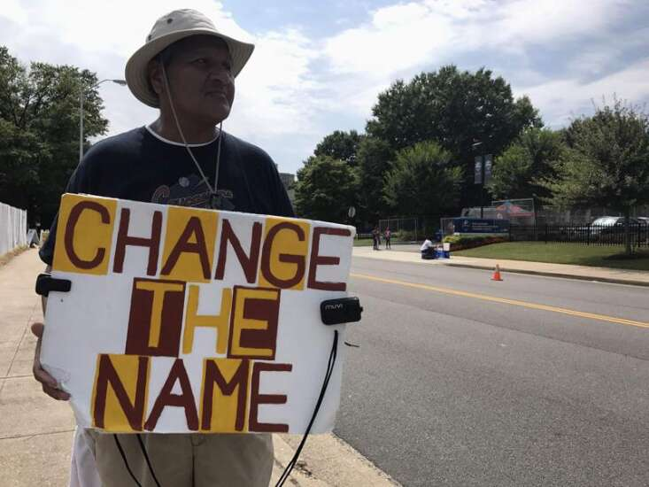 For five years, a Richmond local has made a one-man stand against the Redskins' name