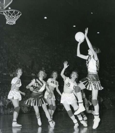 Timeline: 100 years of the Iowa girls' state basketball tournament