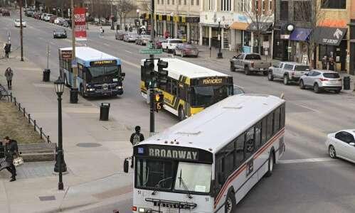 Iowa cities ponder the future of public transit
