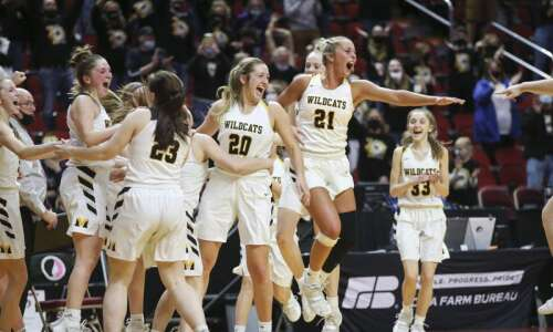 Photos: Maquoketa Valley vs. Rock Valley, Iowa Class 2A girls'…
