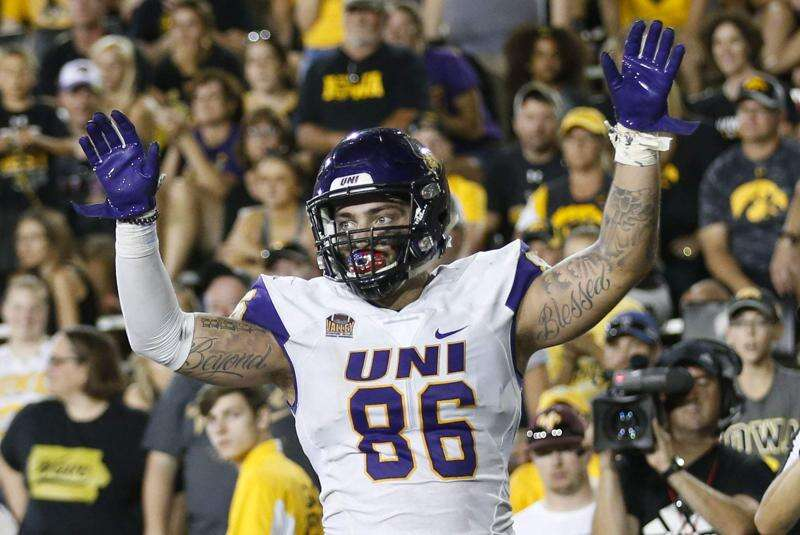 Former UNI tight end Briley Moore announces transfer to Kansas State