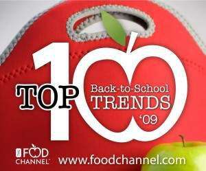 Food Channel announces back-to-school trends